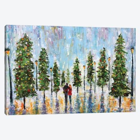 Winter Romance Canvas Print #KRT172} by Karen Tarlton Canvas Art