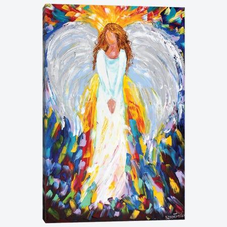 Angel Of Hope Canvas Print #KRT17} by Karen Tarlton Canvas Art