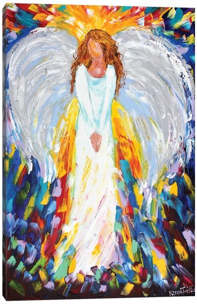 Angel Of Hope Canvas Art Print