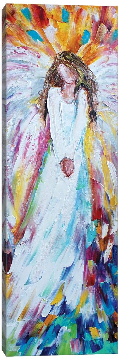 Angel Of Joy Canvas Art Print