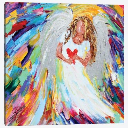Angel Of Love Canvas Print #KRT19} by Karen Tarlton Canvas Art Print