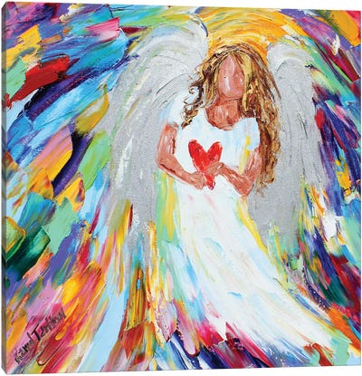 Angel Of Love Canvas Art Print