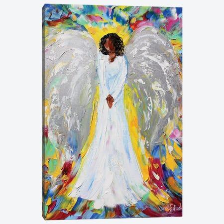 Angel Of Mine Canvas Print #KRT20} by Karen Tarlton Canvas Art