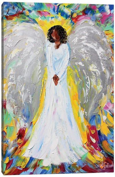Angel Of Mine Canvas Art Print