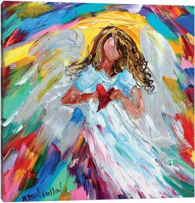 Angel Of My Heart Canvas Art Print
