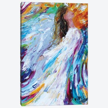 Angel Rising Canvas Print #KRT23} by Karen Tarlton Canvas Art
