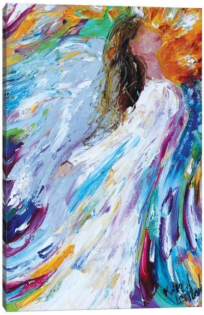 Angel Rising Canvas Art Print