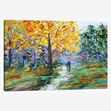Autumn Romance Canvas Print #KRT28} by Karen Tarlton Canvas Wall Art