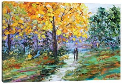 Autumn Romance Canvas Art Print