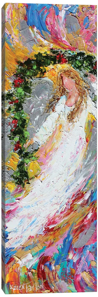 Christmas Angel Canvas Art Print