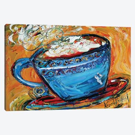 Coffee Canvas Print #KRT47} by Karen Tarlton Canvas Print