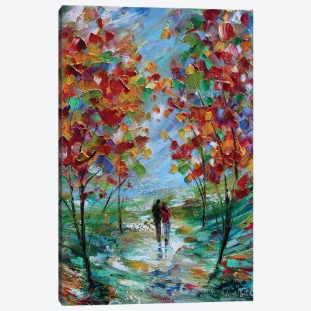 Colorful Romance Canvas Print #KRT51} by Karen Tarlton Art Print