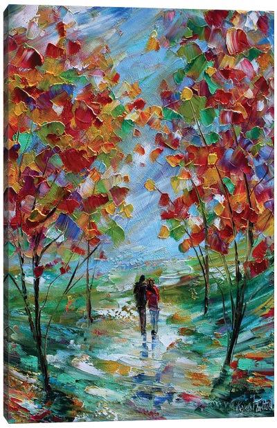 Colorful Romance Canvas Art Print