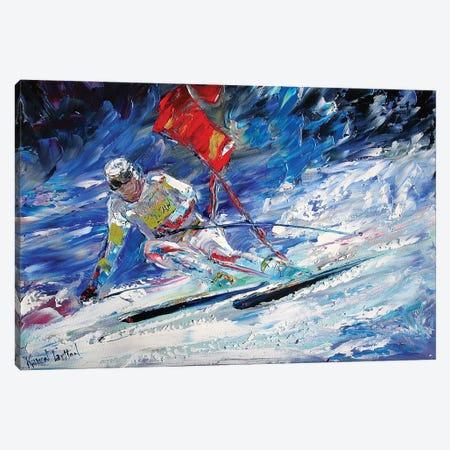 Downhill Canvas Print #KRT60} by Karen Tarlton Canvas Art