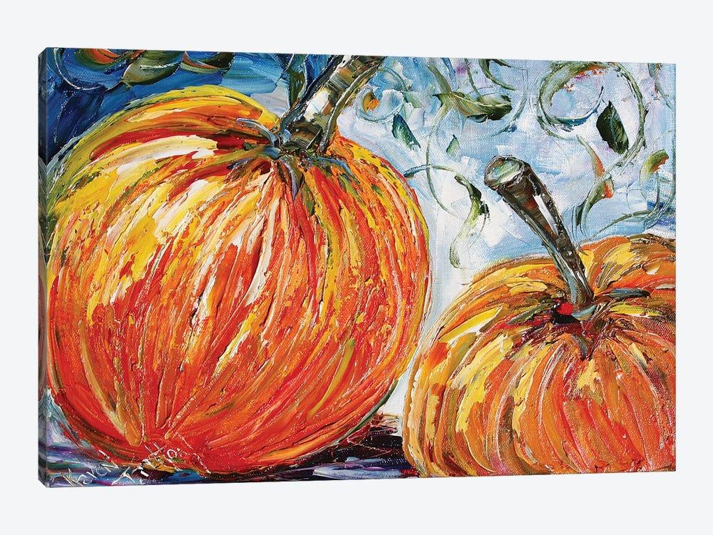 Fall Pumpkins by Karen Tarlton 1-piece Art Print