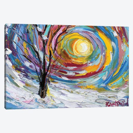 First Snow Canvas Print #KRT64} by Karen Tarlton Canvas Print