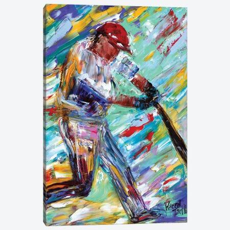 Grand Slam Canvas Print #KRT69} by Karen Tarlton Canvas Art