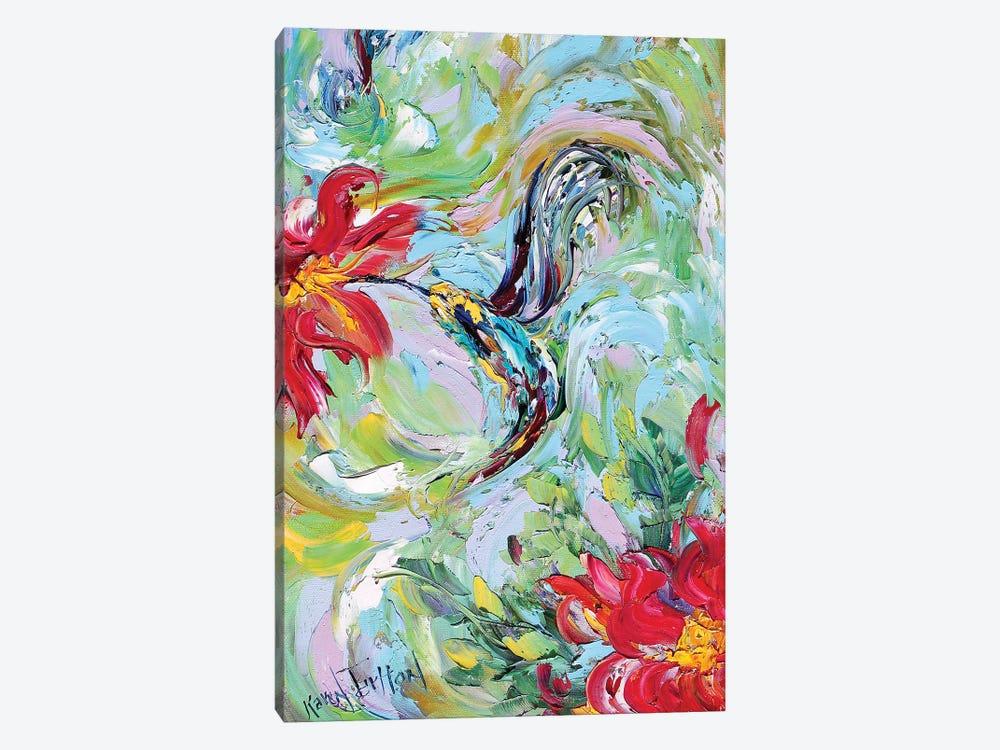 Hummingbird Giclee Native Resolution by Karen Tarlton 1-piece Canvas Art