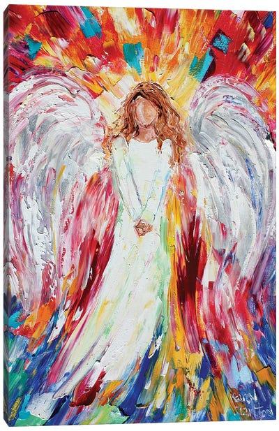 Joyous Angel Canvas Art Print