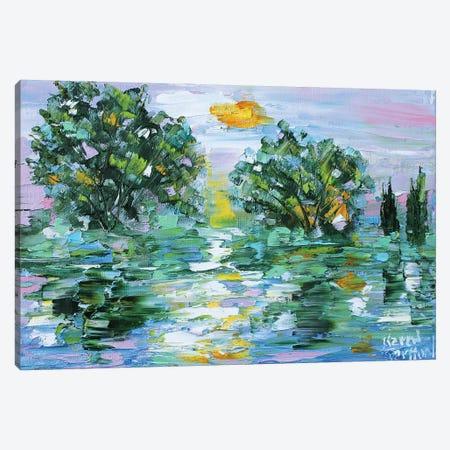 Last Light Canvas Print #KRT82} by Karen Tarlton Canvas Artwork