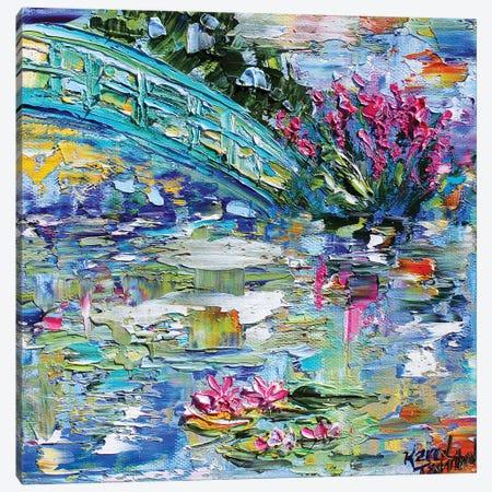 Lily Pond Canvas Print #KRT84} by Karen Tarlton Canvas Print