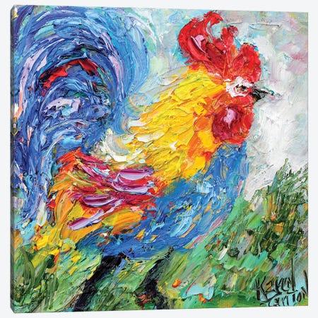 Little Rooster Canvas Print #KRT85} by Karen Tarlton Canvas Art Print
