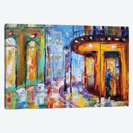 New Orleans Canvas Print #KRT92} by Karen Tarlton Art Print