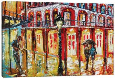 New Orleans French Quarter Canvas Art Print