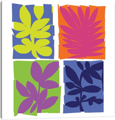Aloha Floral I Canvas Art Print