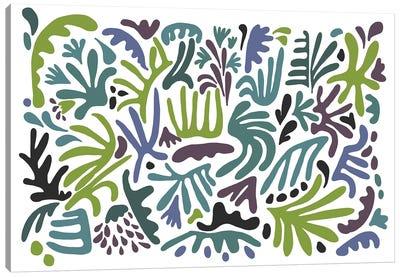 Jazz Garden Canvas Art Print