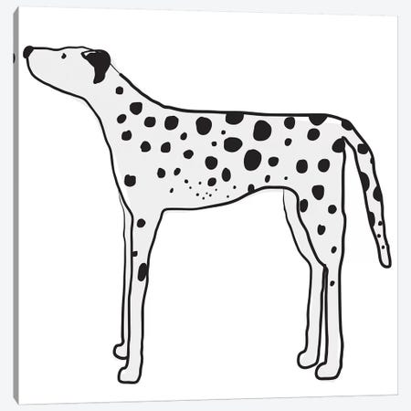 Great Dane Canvas Print #KRU31} by Kris Ruff Canvas Art