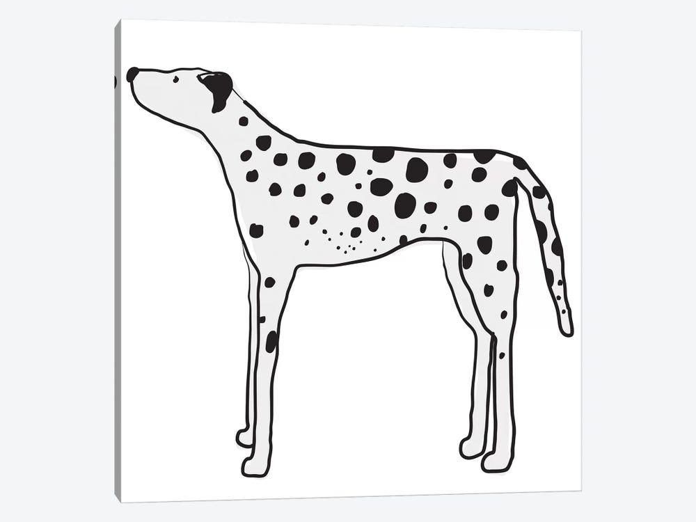 Great Dane by Kris Ruff 1-piece Canvas Art Print