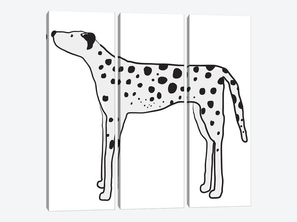 Great Dane by Kris Ruff 3-piece Canvas Art Print