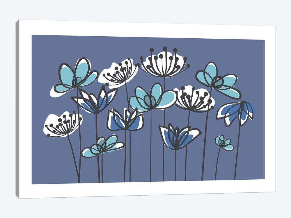 Jardin VIII by Kris Ruff 1-piece Canvas Art Print
