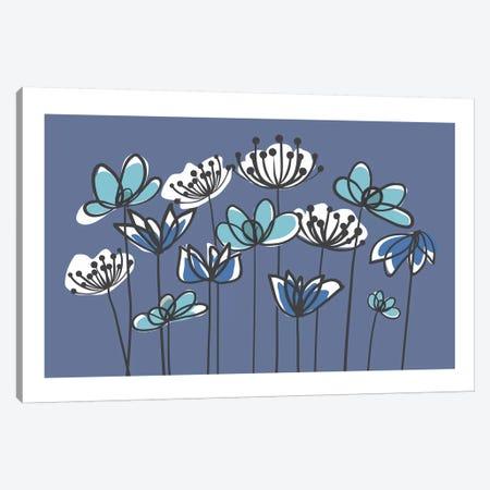 Jardin VIII Canvas Print #KRU40} by Kris Ruff Canvas Art Print