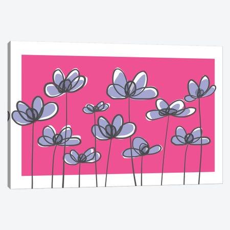 Jardin X Canvas Print #KRU42} by Kris Ruff Canvas Print