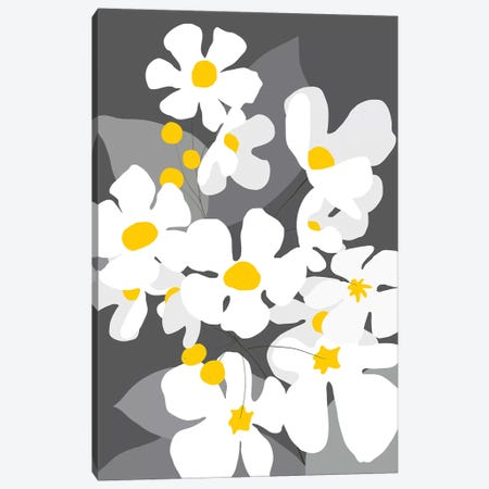 Spring Blossoms I Canvas Print #KRU58} by Kris Ruff Canvas Art
