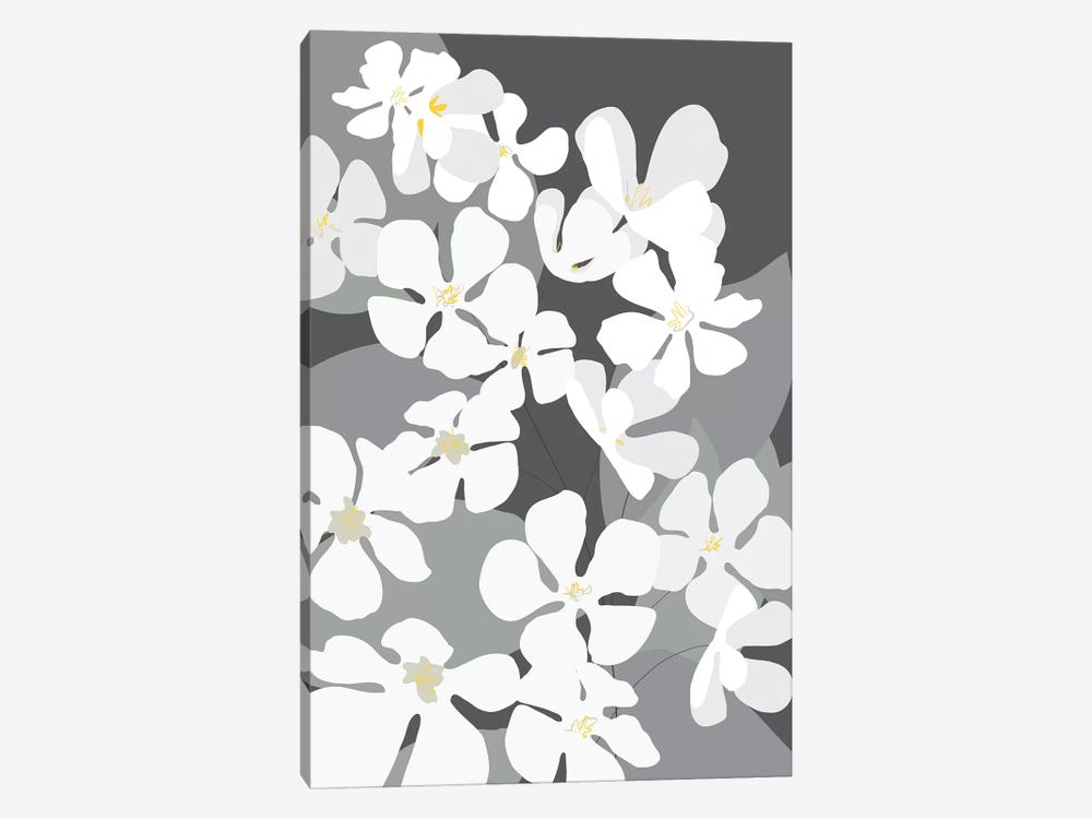 Spring Blossoms III by Kris Ruff 1-piece Canvas Art Print