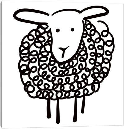 Wooley Sheep Canvas Art Print