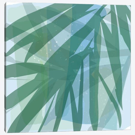 Barrier Reef Leaves Canvas Print #KRU84} by Kris Ruff Canvas Wall Art