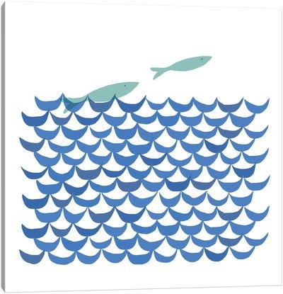 Deep Blue Sea Canvas Art Print
