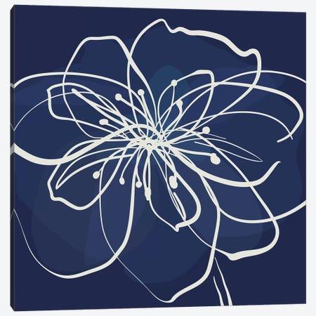 Pen & Ink Floral I Canvas Print #KRU87} by Kris Ruff Canvas Art