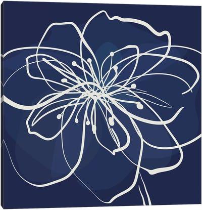 Pen & Ink Floral I Canvas Art Print