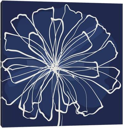 Pen & Ink Floral II Canvas Art Print