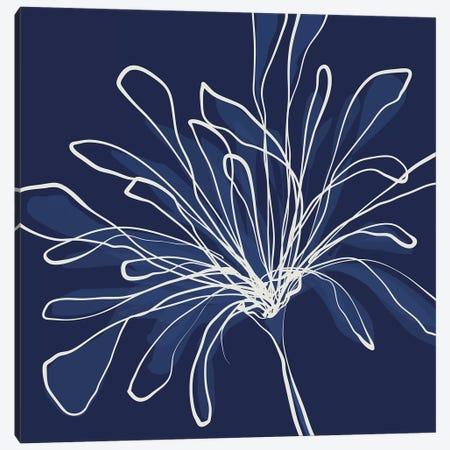 Pen & Ink Floral III Canvas Print #KRU89} by Kris Ruff Art Print