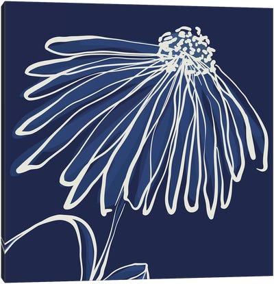 Pen & Ink Floral IV Canvas Art Print