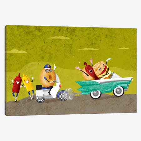 Fastfood 3-Piece Canvas #KSD13} by Kitschy Delish Canvas Wall Art
