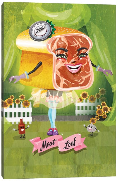 Meatloaf Canvas Art Print