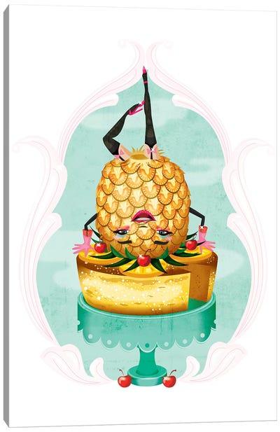 Pineapple Upsidedown Cake Canvas Art Print