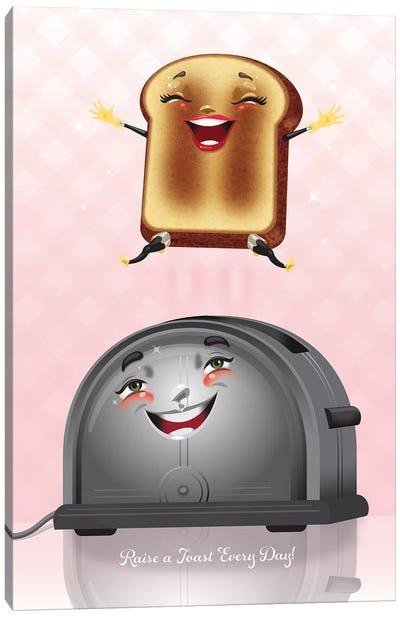 Raise A Toast Canvas Art Print